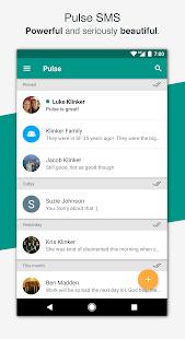 Pulse SMS (Phone/Tablet/Web) - náhled