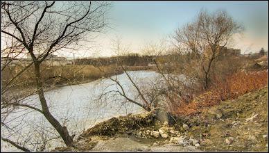 Photo: Râul Arieș - vedere de pe Str. Petru Maior - 2017.03.02