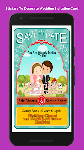Wedding invitation cards maker apps on google play screenshot image stopboris Choice Image
