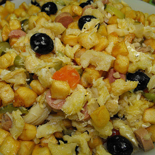 Cook'S Codfish and Potatoes, Pickles, and Olives Recipe