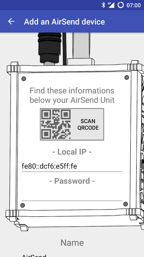 AirSend (Unreleased)- screenshot