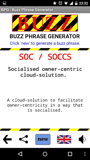 BPG Buzz Phrase Generator