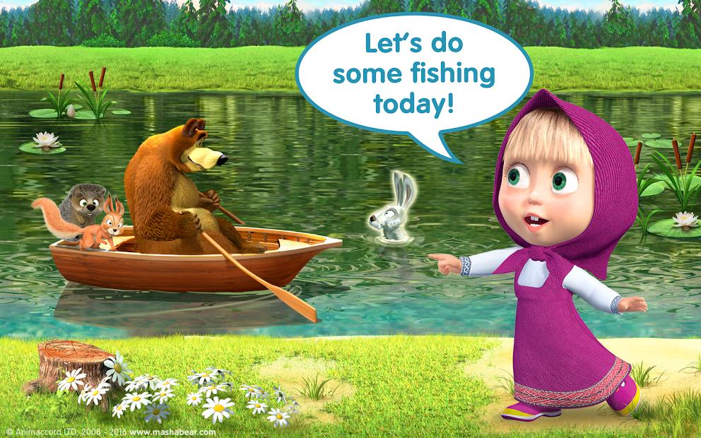 Masha and the Bear Child Games screenshot 10
