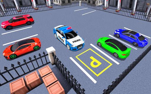 Télécharger mania de stationnement de voiture police moderne apk mod screenshots 4