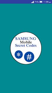 Samsung Secret Codes - náhled