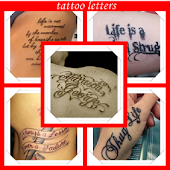 Letter Tattoo Designs
