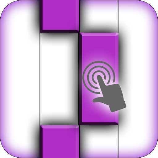 Piano Tiles :Purple Color Tap 益智 App LOGO-硬是要APP