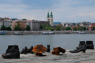 Photo: Budapest - Shoes on the Danube Memorial