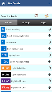 Denver Transit Info screenshot 1