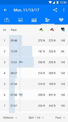 Runtastic Running & Fitness Tracker Screenshot