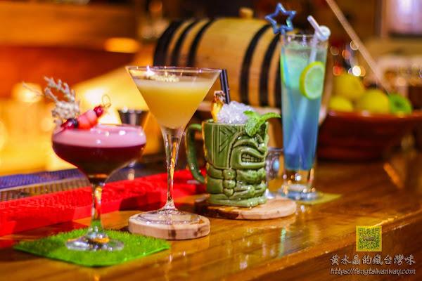 Mix Bistro餐酒館|網美IG熱門打卡客製化調酒,職人調酒師的夏日微醺專業TIKI調酒