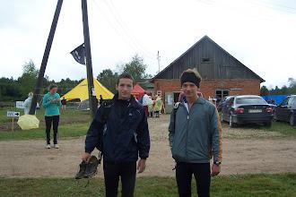 Photo: Сиротов и Лешко финишнули - вот что бывает, когда к вопросу обуви подходят несерьезно...