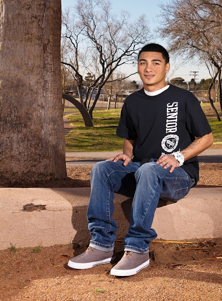 Photo: My 3rd senior I've shot, this was for his graduation announcements.