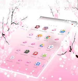 Pink Cherry Theme - náhled