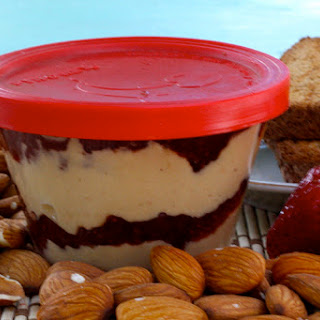 Clean Eating Almond Butter and Jelly