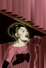 "Photo: ""Billie Holiday"" artwork by Amore Hirosuke"