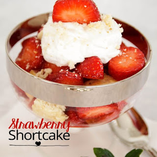 Individual Strawberry Shortcakes.
