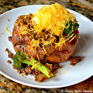 Easy Fully Loaded Baked Potatoes