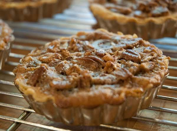 Absolutely Awesome Chocolate & Pecan Tartlets Recipe