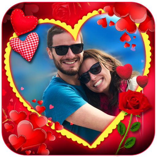 Love Photo Frames, Greetings and Gif's icon