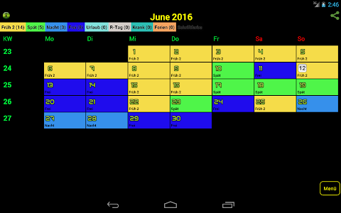 Easy-Schichtplan screenshot 10