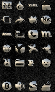 white PHANTOM HD Icon Pack Screenshot