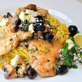Mediterranean Lemon Butter Chicken