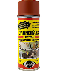 Grundfärg röd spray 400ml