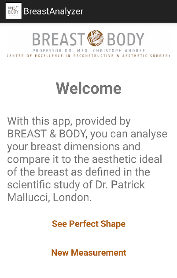 BreastAnalyzer by BREAST&BODY- screenshot