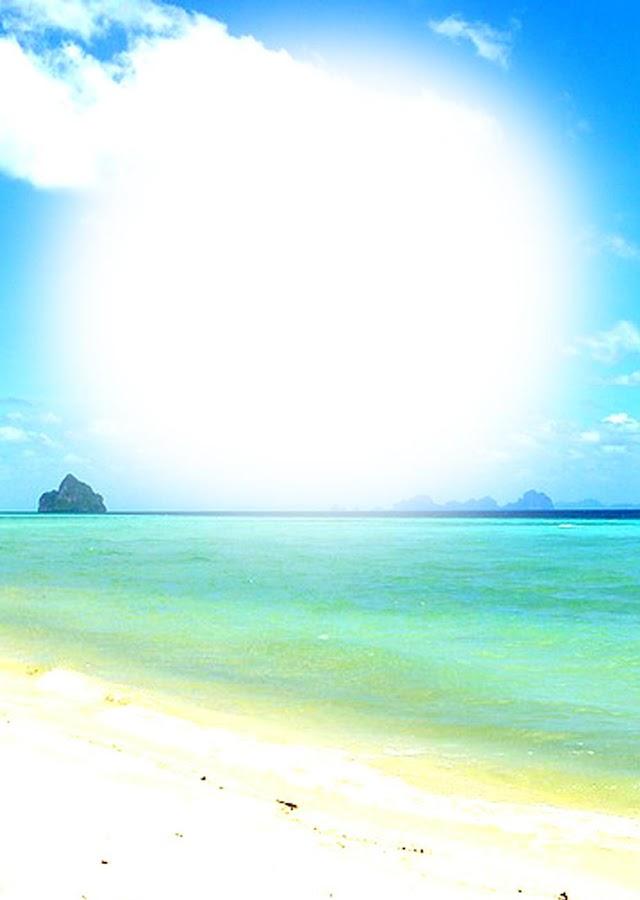beach frames photos effects screenshot