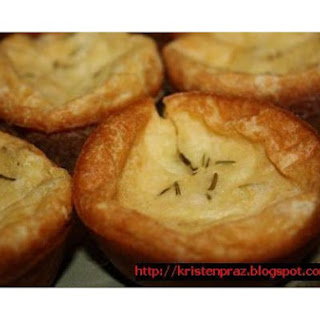 Popovers With Rosemary