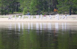 Лагерь айкидо Дмитрия Потехина. 2004
