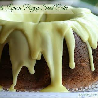 Triple Lemon Poppy Seed Cake.