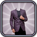 Man Blazer Suit Camera icon