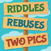 Riddles, Rebus Puzzles and Two Pics