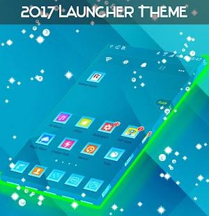 2017 Launcher Theme - náhled