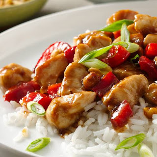 Spicy Peanut Chicken.