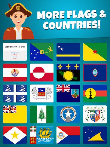 Flags of the World 2: Map - Geography Quiz screenshots 13