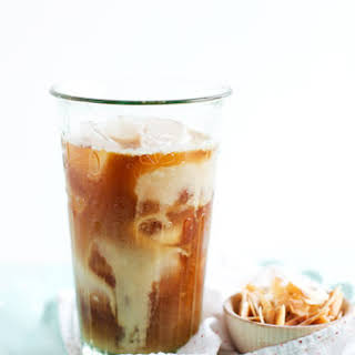 Toasted Coconut & Rum Iced Coffee.