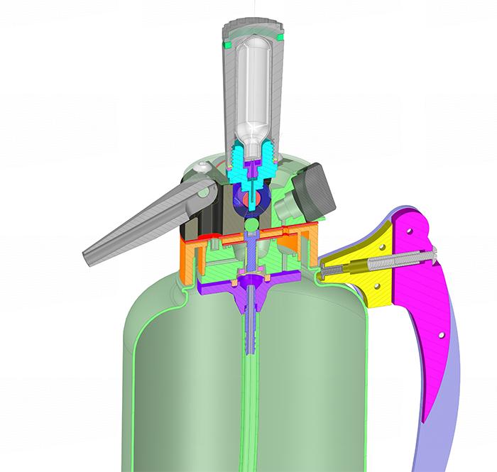 ANSYS Режим разреза модели в SpaceClaim позволяет гораздо проще представить конструкцию