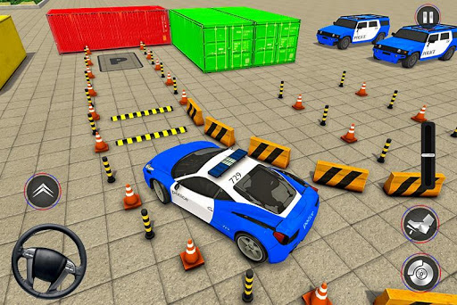 Modern Police Car Parking 2020: Multi Level Parker painmod.com screenshots 1