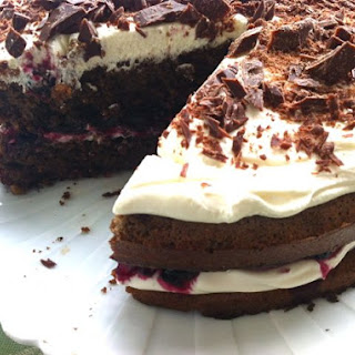 Rye Bread and Blackcurrant Cake
