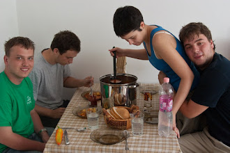 Photo: a delicious goulash by Miklos' girlfriend