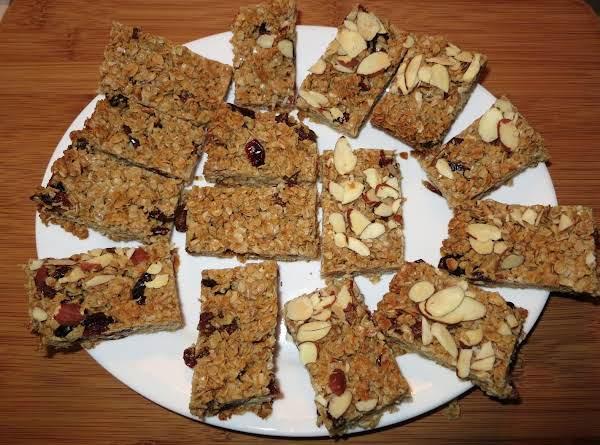 Chewy Oat Bars Recipe
