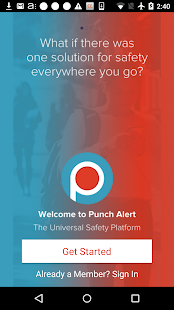 Punch Alert- screenshot thumbnail