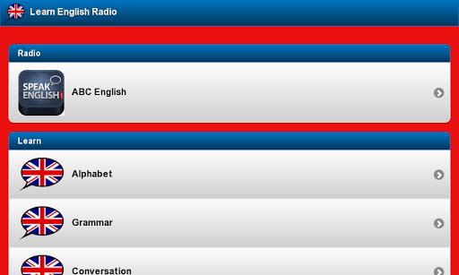 玩免費教育APP|下載英語のラジオを学ぶ app不用錢|硬是要APP