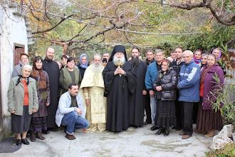 Photo: Обща снимка след службата, 14 ноември 2013 г.