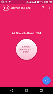 Contact To Excel 1