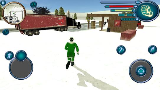 Santa Claus Rope Hero Vice Town Fight Simulator 1.6 Android Mod + APK + Data 1