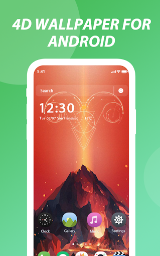 4D wallpapers for Android—Customize 4K wallpapers 1.0.0 screenshots 2